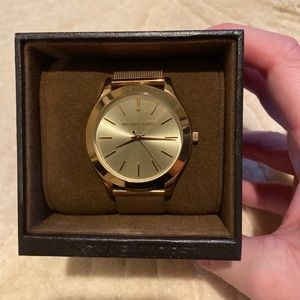 Michael Kors Gold Watch with box